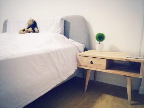 Apartment - Jalan Rumah Tinggi | Products Seen: [Flux Side Table & Plant - Pine Tree]